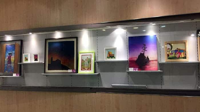 Imagen Exposición en la sala Sunka de PlusFresc de Lleida