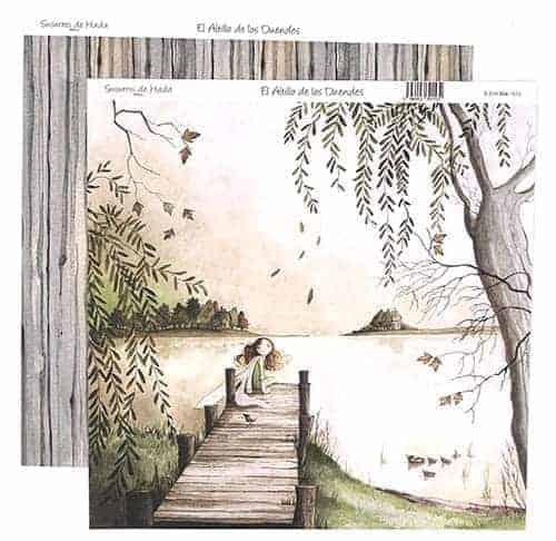 Papel Scrapbooking - El altillo de los duendes - Susurro de Hada número 4