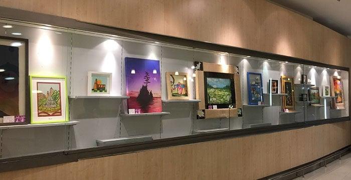 Vista general de la Exposición en sala Sunka de Plusfresc